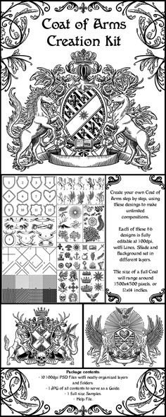 Bisson Coat Arms Shield Meanings