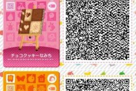 Animal Crossing New Leaf Amp Hhd Qr Code Paths Mossy Bricks