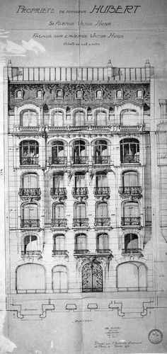 Apartment Sketches Buildings Old