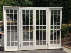 Double French Doors With Side Lights French Doors
