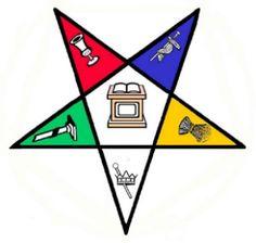 OES Eastern Star Past Matron symbol pattern Masonic ...
