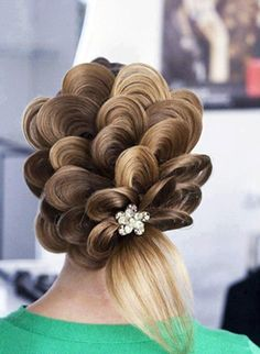 Hair on Pinterest | Braids, Bridal Hairstyles and Hair Style