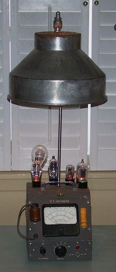 Upcycled Rat Rod Lamp With Vintage Gas Can And 1947