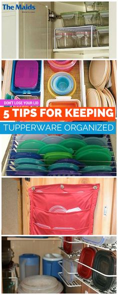 Tupperware Organization Ideas