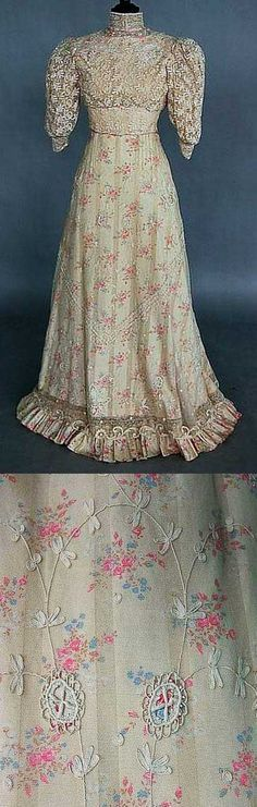 House Fashioned Old Cotton Dresses