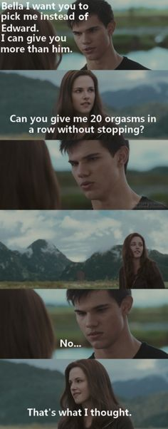 Jacobs Blonde Jokes Breaking Dawn