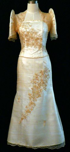 Filipina Mestiza Dress