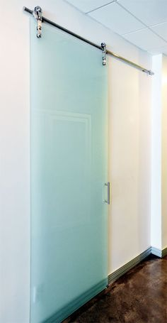 Barn Door Hardware Glass Shower Doors And Subway Tile