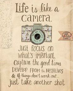 1000+ Camera Quotes on Pinterest   Photography Quote ...