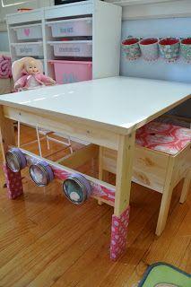 Ikea Art Center Trofast Storage Sansad Table Kritter