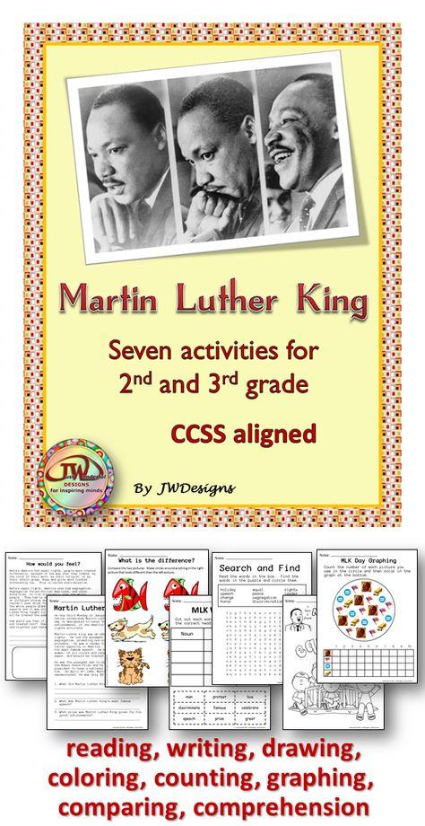 King Jr Martin Printables