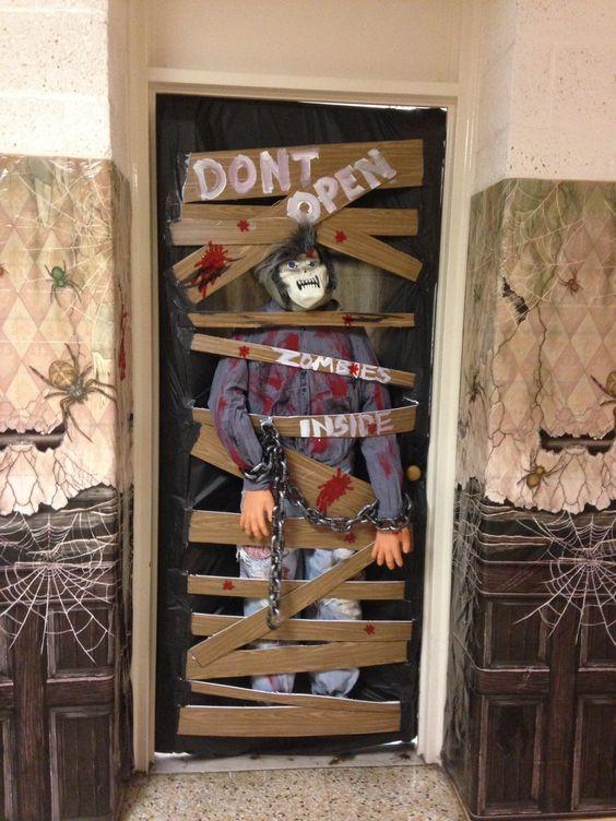 Zombie Office Decor
