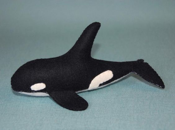Killer Whale Sewing Pattern