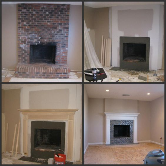 Drywall Fireplaces Finished
