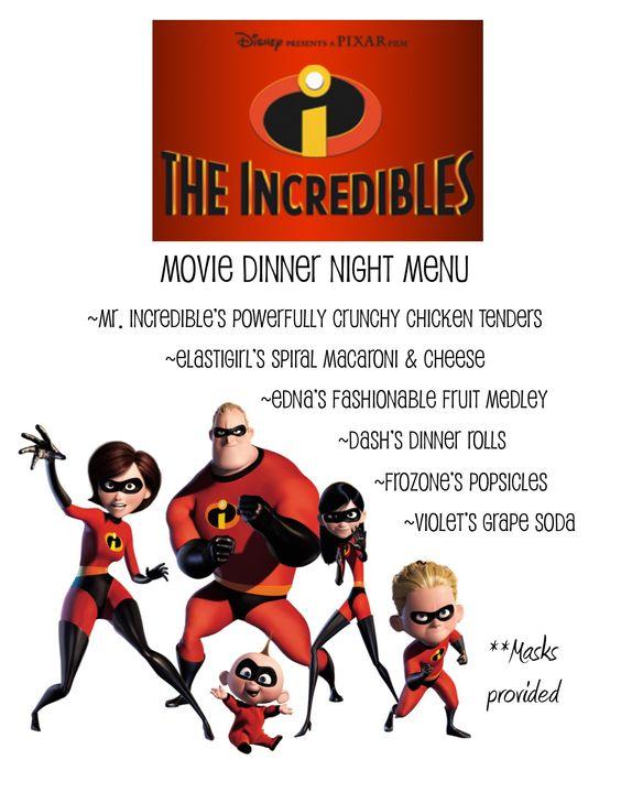 Incredibles Dvd Menu 2011
