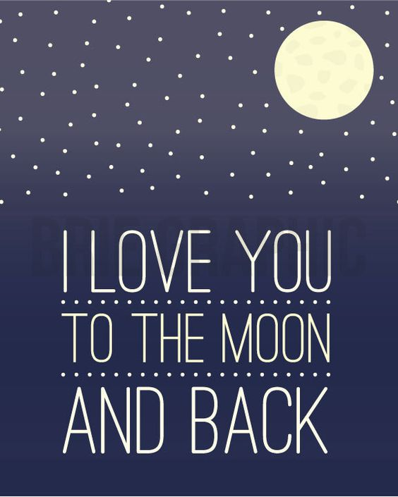Poem And Moon Back