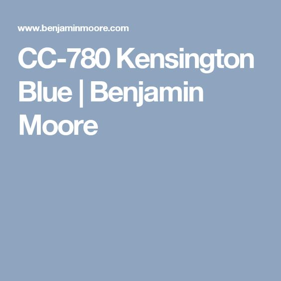 Benjamin Moore Polo Blue