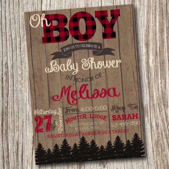 Baby Shower Invitations Kingston