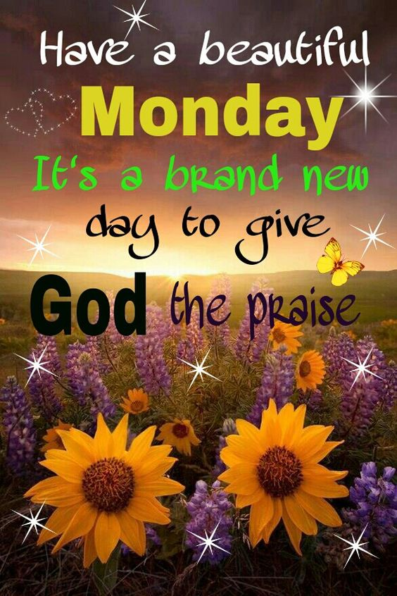 Monday Blessing Morning Friend My Happy