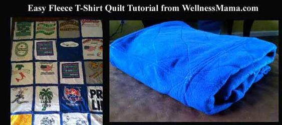 T Shirt Quilt Tutorial Beginning