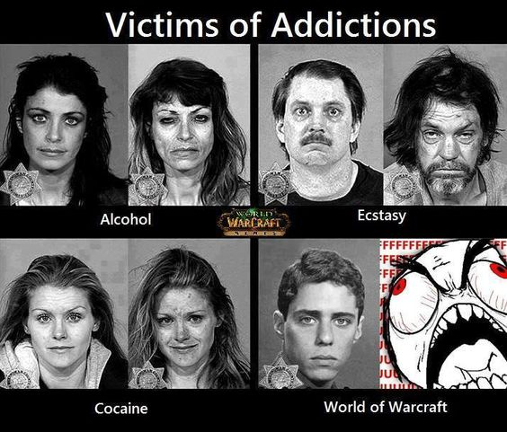 Memes World Warcraft Coffee Funny