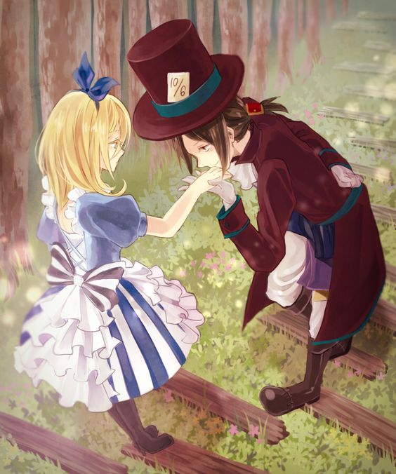 And Alice Mad Hatter Kiss