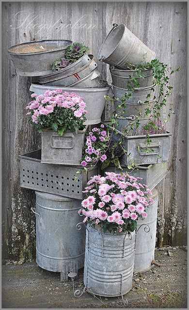 Garden Containers Galvanised