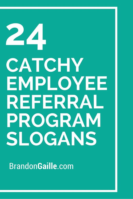 Employee Referral Slogans