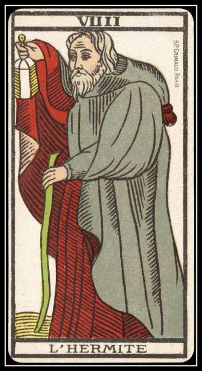 Card Tarot Fool Hermetic