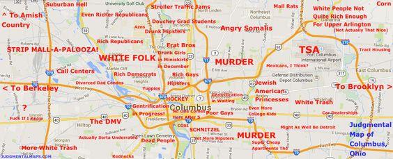 Judgemental Map Cleveland