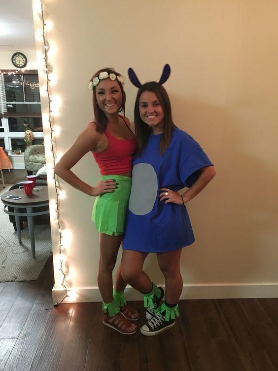 Costume Lava Girl Disney