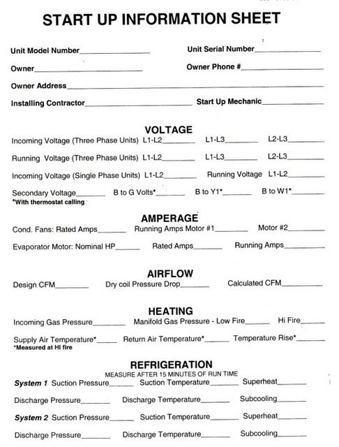 Home Air Conditioning Tune Up