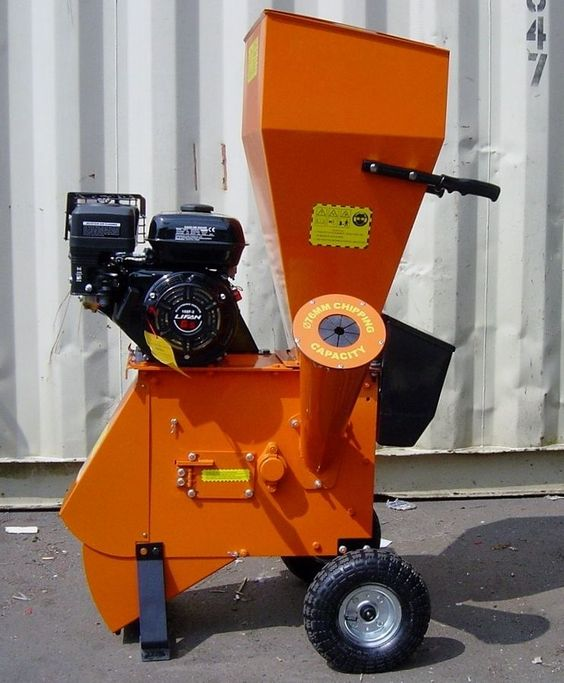 Industrial Garden Shredder