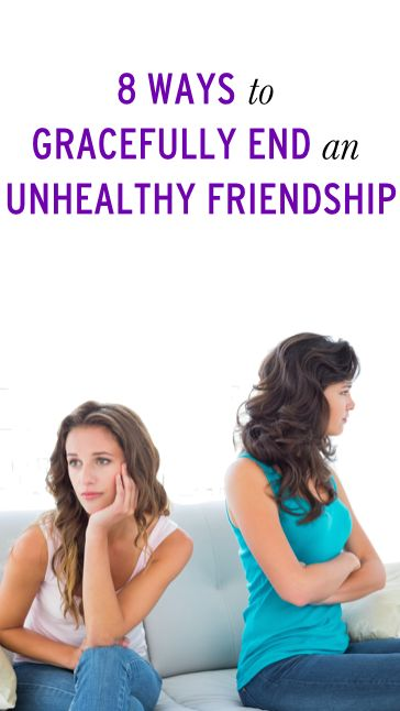 How End Toxic Friendship Gracefully