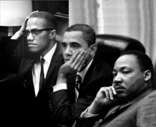 Black And History Month Obama Mandela