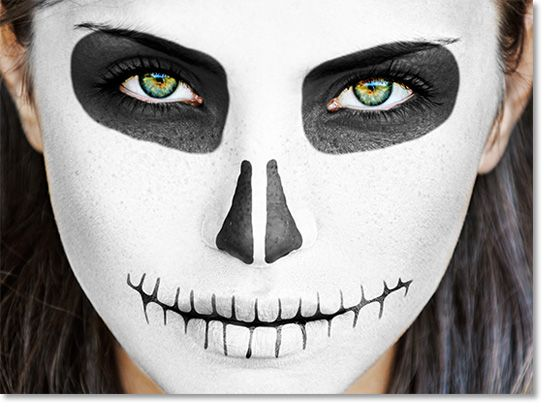 Face Easy Paint Tutorial Day Dead