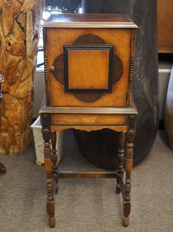 Antique Pipe Stand Table