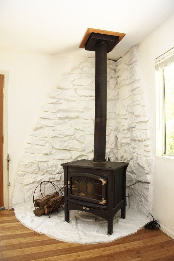 Modern Cabins Cabin And Wood Stoves On Pinterest