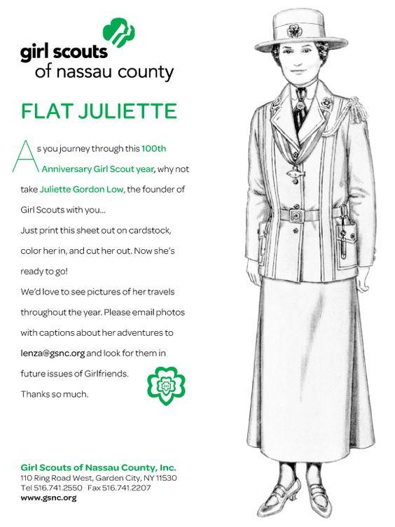 Juliette Low Worksheets