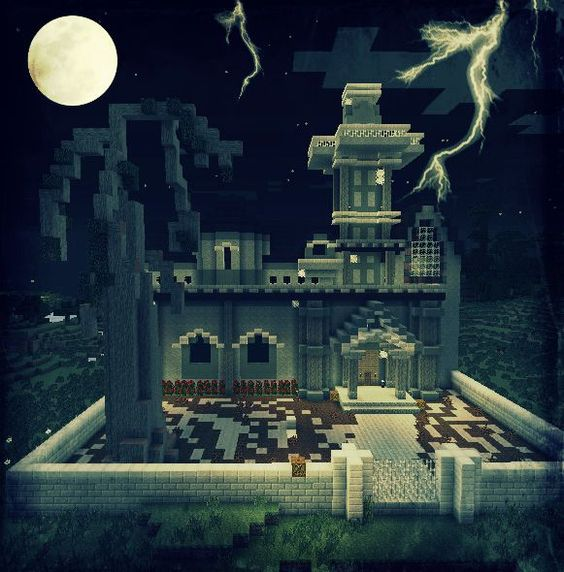 Haunted House Simple Minecraft
