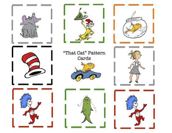 Pattern Seuss Hat Printable Dr