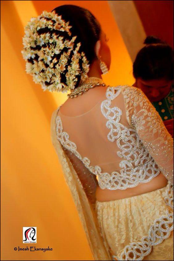 Kandyan Saree Hairstyles Kandian