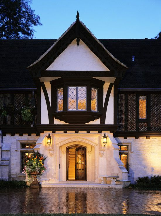 Tudor Home Exterior Paint Ideas