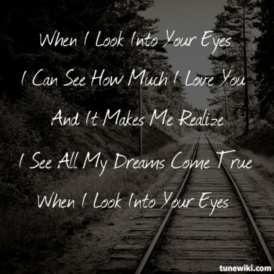 Looking Your Eyes Quotes