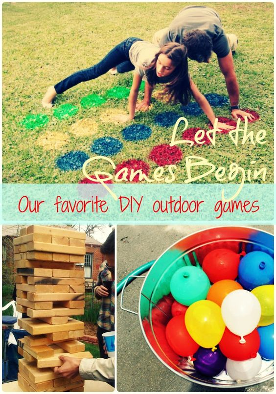 Fun Yard Games Parties