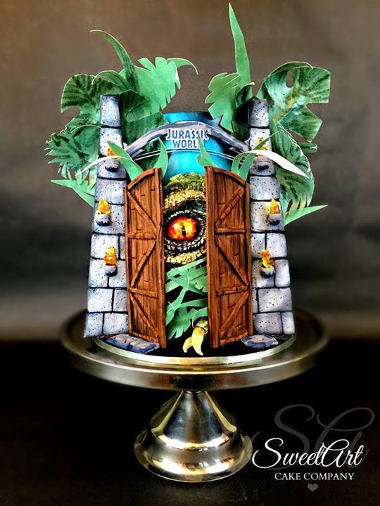 Alligator Cakes Decoration