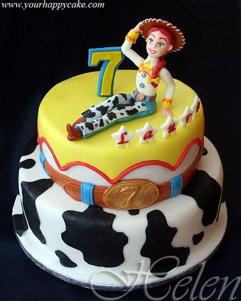 Jessie Disney Channel Cake Templates