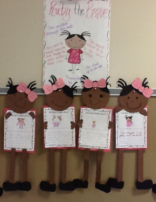 Ruby Bridges Project Display Board