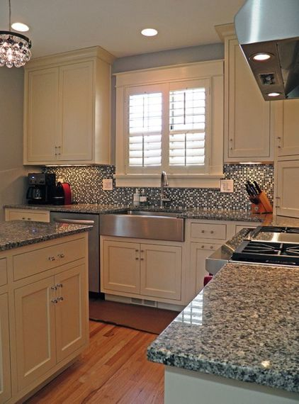 Azul Platino Granite Is A Great Choice For Kitchen Counter
