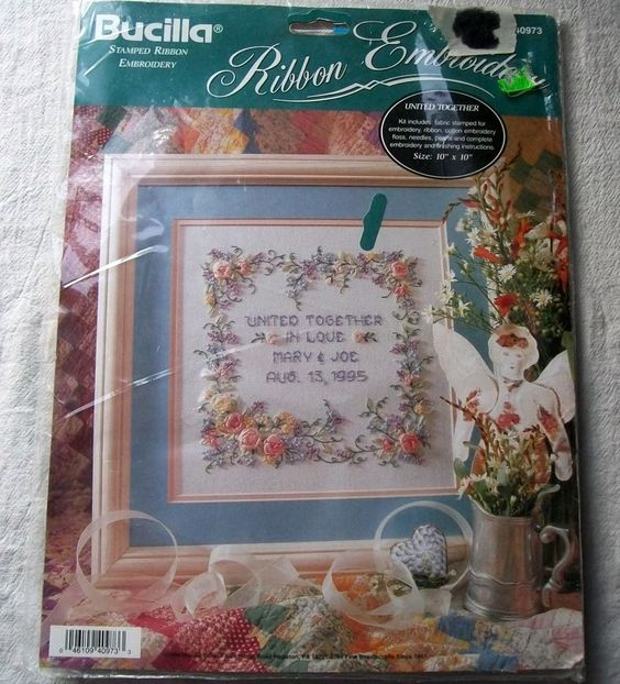 Bucilla Stamped Embroidery Kits